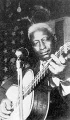 Leadbelly in the 40s
